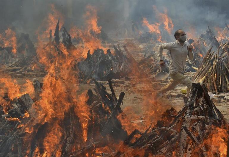 Dehşete düşüren sayı ortaya çıktı: Hindistanda Kovid-19, 4,7 milyon hayatı söndürmüş olabilir