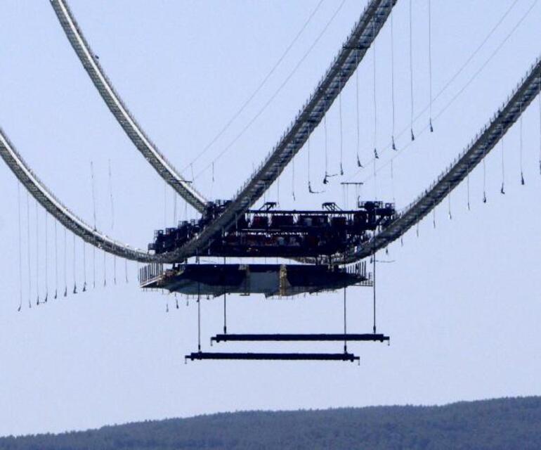 1915 Çanakkale Köprüsünde önemli adım