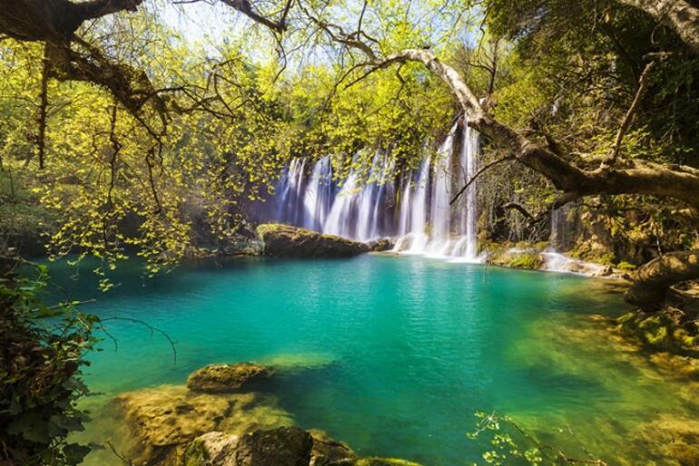 Denize girmek yetmeyince... Türkiyenin serin suları: 7 bölge,17 şehir ve 20 ŞELALE
