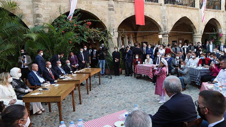 Cumhurbaşkanı Erdoğan KKTCde gençlere seslendi