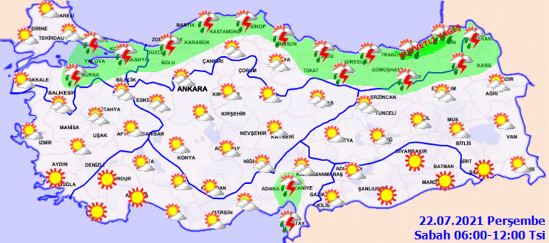 Hava durumu tahminleri: AFAD ve Meteorolojiden son dakika kuvvetli yağış uyarısı İstanbul ve 6 ilde etkili olacak