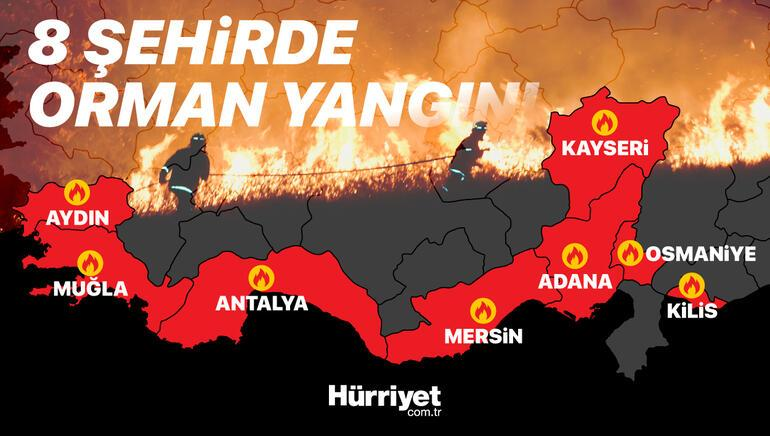 Ciğerlerimiz yanıyor Orman yangınları neden çıktı İşte isyan ettiren ihtimal...