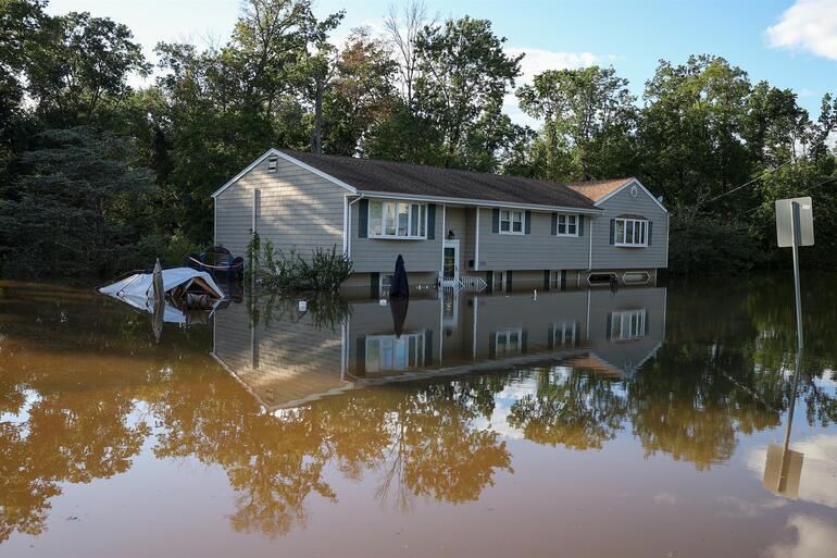 ABDde ağır bilanço Ida Kasırgası 45 can aldı