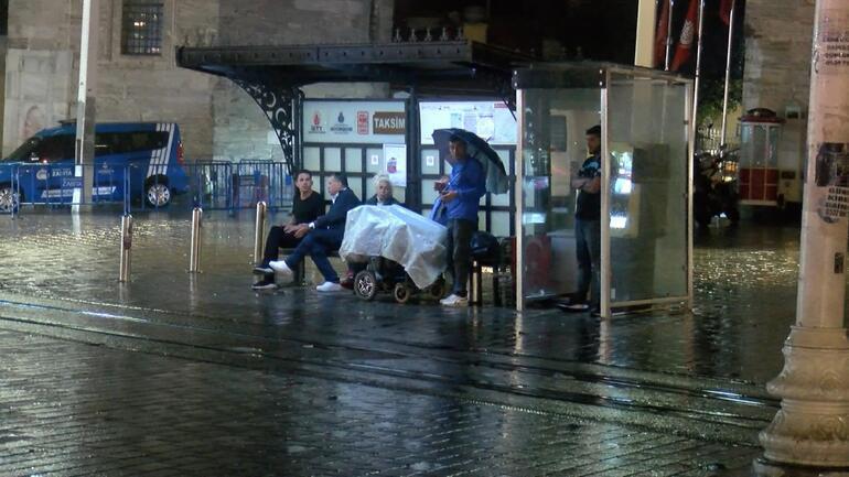 Son dakika haberi: Meteoroloji uyarmıştı... İstanbulda beklenen yağış başladı