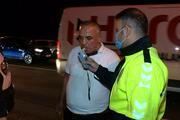 TEM Otoyolunda kazaya neden olan alkollü sürücüye dayak