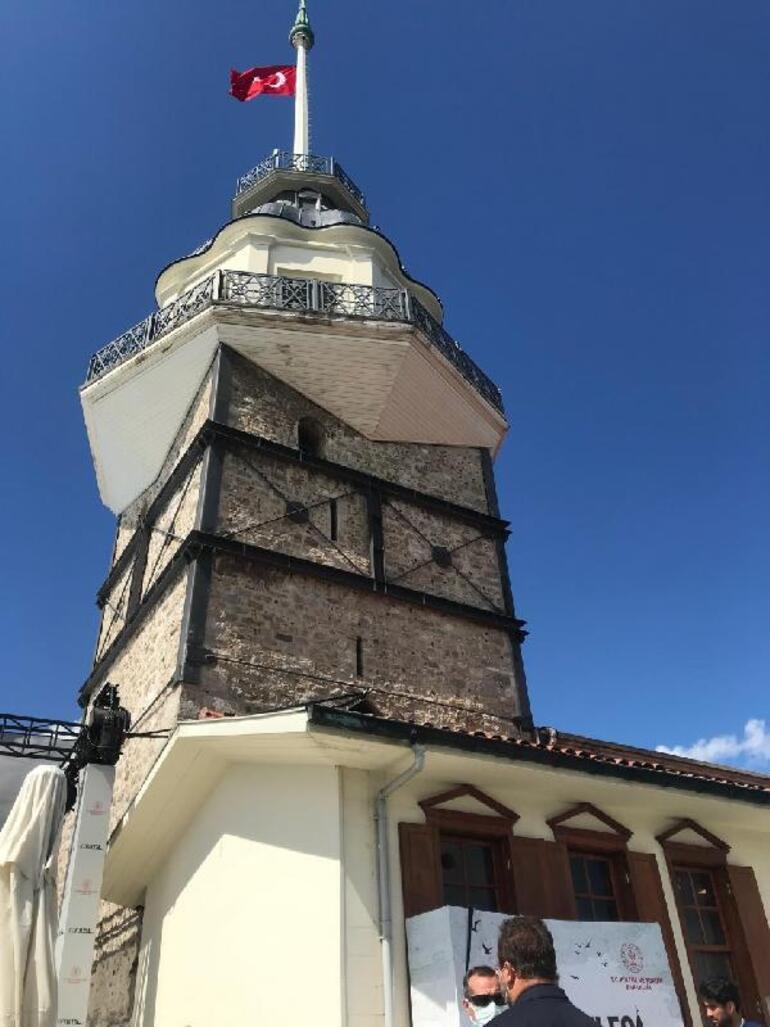 Son dakika... Kız Kulesinde restorasyon başlıyor Bakan açıkladı... İşte bitiş tarihi