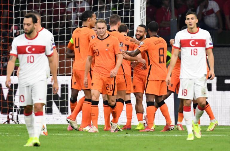 Hollanda 6 - 1 Türkiye Maçın özeti ve golleri