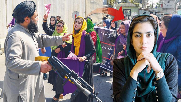 Hürriyetle dünyaya seslendiler Taliban bilmeli ki biz 20 yıl önceki kadınlar değiliz