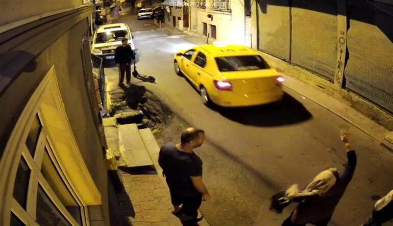 İstanbulun göbeğinde inanılmaz olay Boşanma aşamasındaki eşini taksiye bindirip kaçırdı