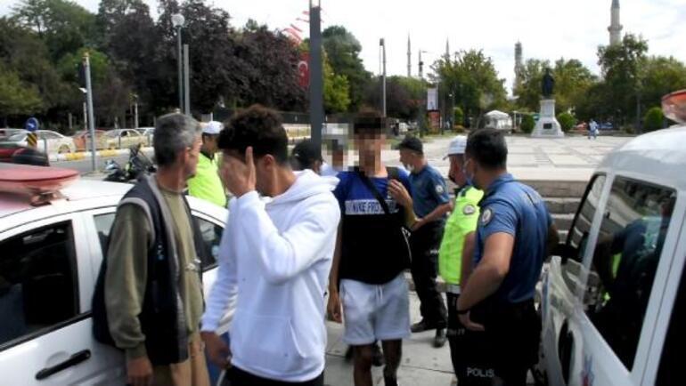 Sokak ortasında iğrenç olay 4 kişiye cinsel tacizden gözaltı