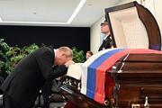 Putinden zor veda: Yakın dostunu böyle uğurladı