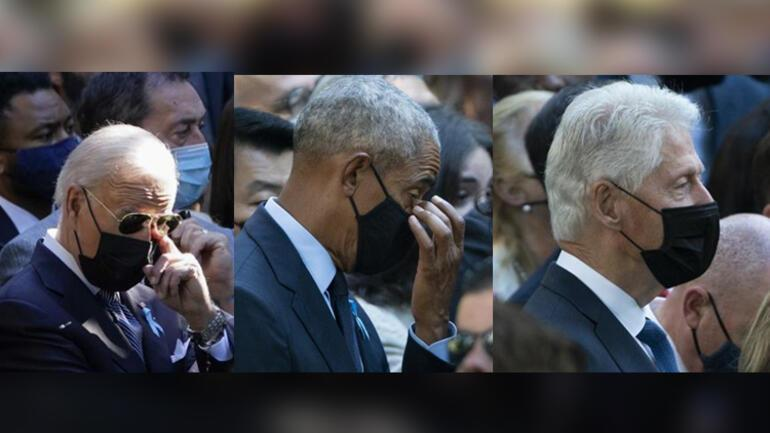 ABD 11 Eylülü anıyor Törende dikkat çeken detay...