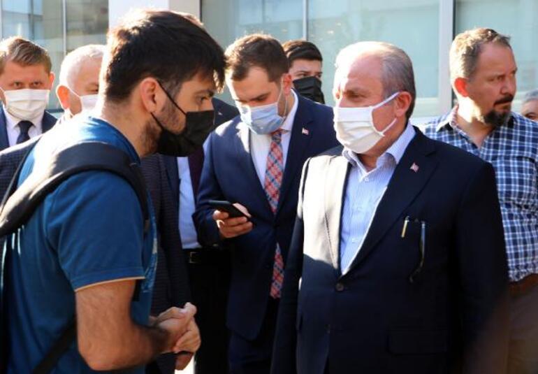 TBMM Başkanı Şentop, Tekirdağda esnaf ziyareti yaptı