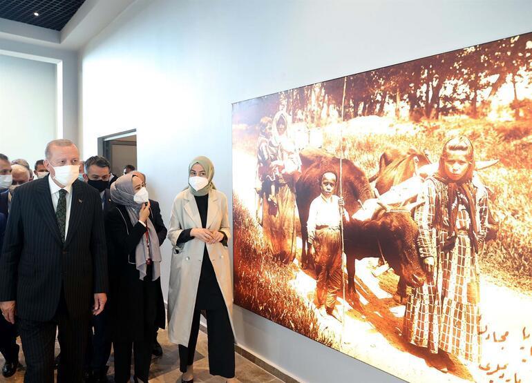 Cumhurbaşkanı Erdoğandan müze ziyareti