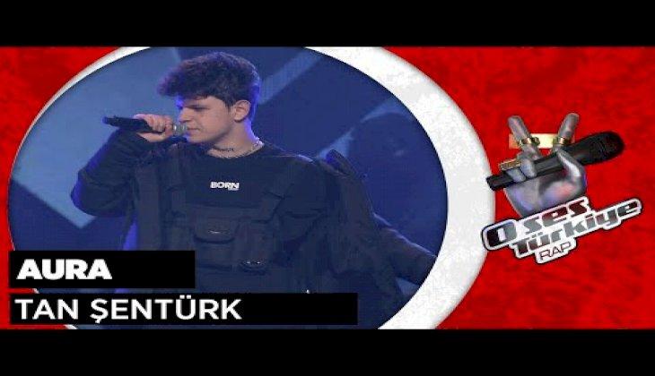 Tan Şentürk - Aura | O Ses Türkiye Rap | Kör Seçmeler | 1. Sezon | EXXEN