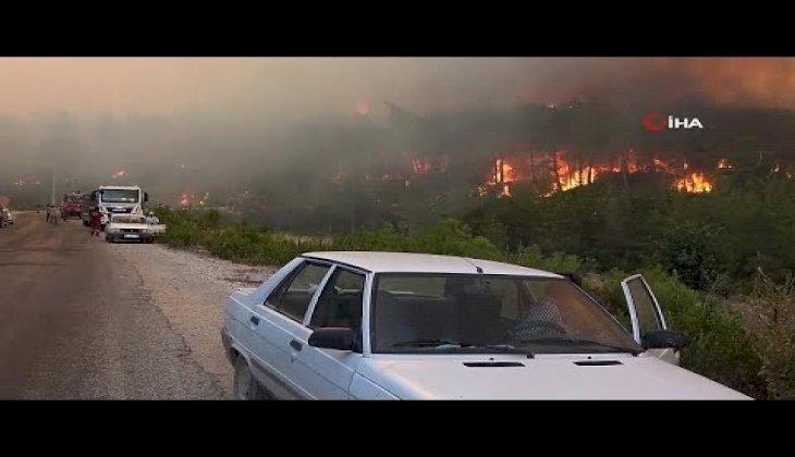 Manavgat'ta orman yangınları dört gündür devam ediyor