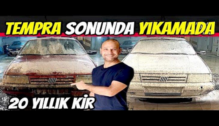 TOZLU GARAJ | Fiat Tempra Detaylı Temizlik | Boyasız bir Tempra'mız varmış :)