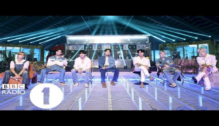 BTS - I'll Be Missing You (Puff Daddy, Faith Evans and Sting Cover) in the Live Lounge