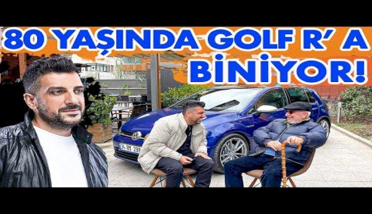 80 Yaşında 500 Beygirlik Golf R'a Binen Amca!