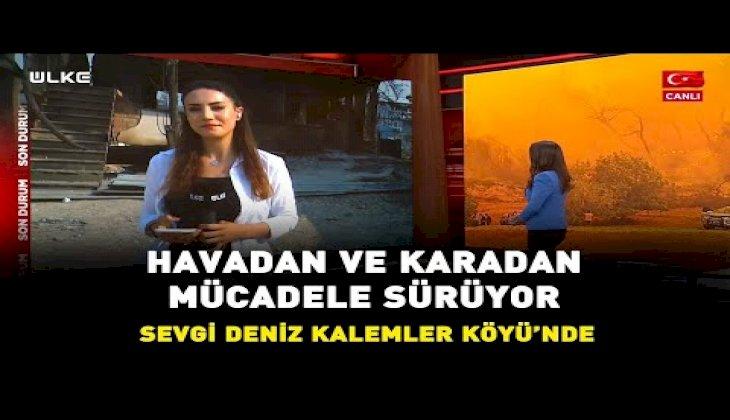 Son Durum I Manavgat'taki yangın kontrol altına alınamıyor I Antalya