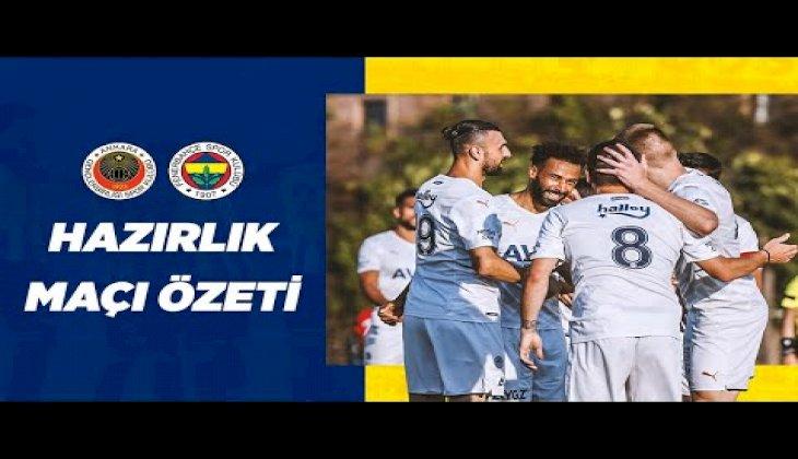 MAÇ ÖZETİ: Gençlerbirliği 0-4 Fenerbahçe