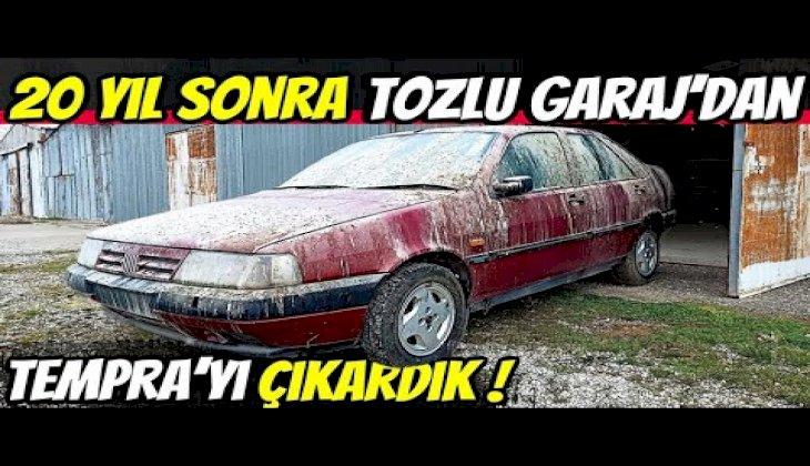 TOZLU GARAJ | Fiat Tempra SX AK macerası başlasın! | 1. Bölüm: Bakım