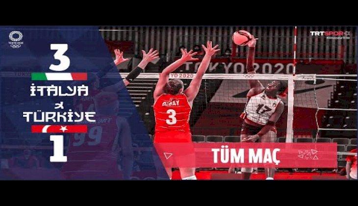 Türkiye 1 - 3 İtalya (Maçın Tamamı) | Tokyo 2020 Olimpiyatları